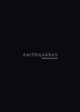 Alberto Gianfreda. Earthquakes, copertina