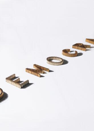DEMOCRACY, 2012 installazione in bossoli e alluminio dimensioni variabili, cm 31×600 circa