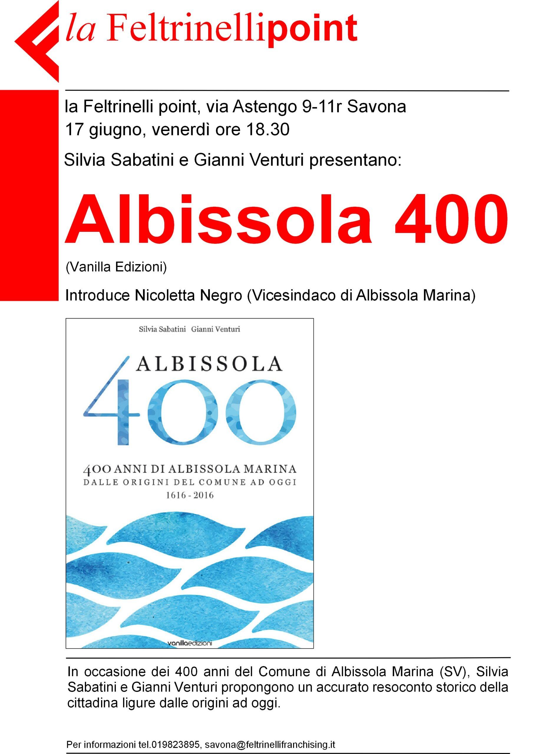 Locandina Albissola 400
