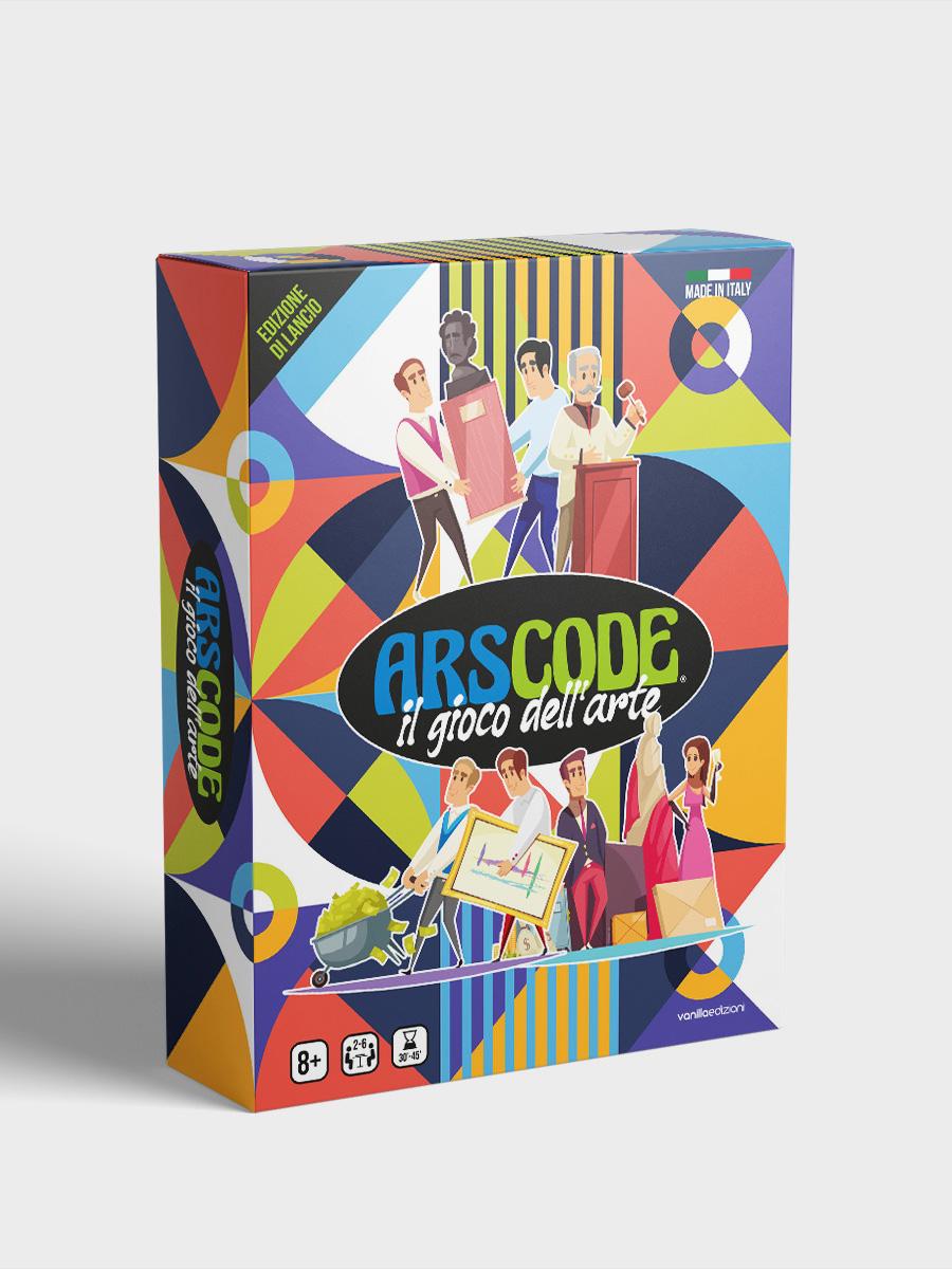 Arscode – il gioco dell'arte | Edizione base